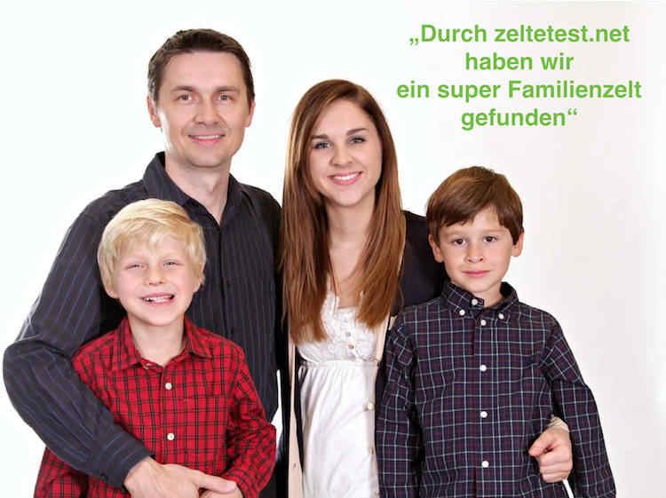 zelte test familienzelt kaufen test familie bild